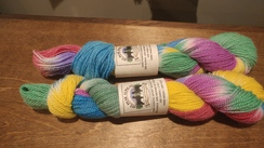 Photo of Painted Alpaca Yarn