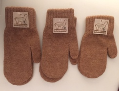 Photo of Alpaca Mittens - Medium