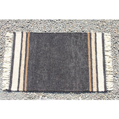 Photo of Black Treasure Alpaca Area Rug