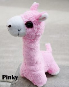 PacaBuddy Stuffed Alpaca Doll – Pinky