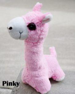 Photo of PacaBuddy Stuffed Alpaca Doll – Pinky
