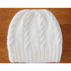 Photo of Cable Knit Star Hat