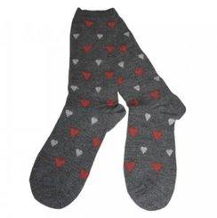 UNISEX Alpaca Sock with Hearts!