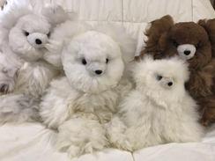 Photo of Luxurious Alpaca Fleece Teddy Bear