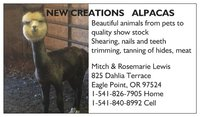 NEW CREATIONS ALPACAS - Logo