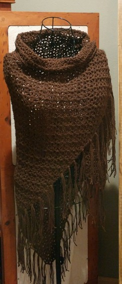 Photo of Crocheted Alpaca Shawl