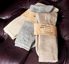 Photo of Alpaca Copper Socks