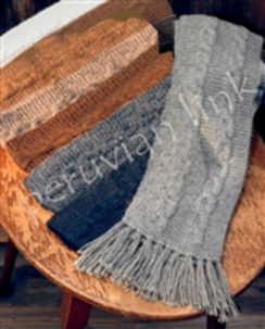 Photo of Trenza Cableknit Scarves