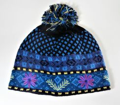 Photo of Blue Meadow Fleece Lined Hat