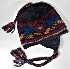 Photo of Sunset Chullo Fleece Lined Hat