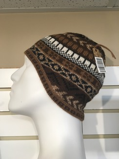 Natural Rustic Knit Hat
