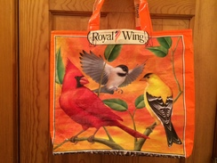 Reusable Tote Bag-beautiful birds!