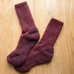 Photo of Dyed Alpaca Survival Socks
