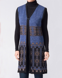 Cathedral Ladies Alpaca Long Vest