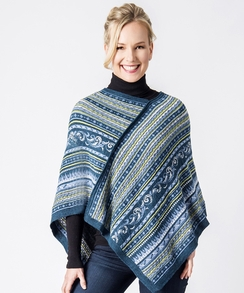 Photo of Wave Alpaca Shoulder Wrap