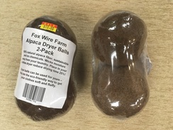 Fox Wire Farm Alpaca Dryer Balls - 2 Pk
