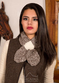 Photo of Arlette Baby Alpaca Tie Scarf