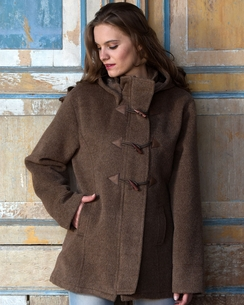 Toggle Womens Alpaca Coat