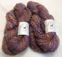 Alpaca Yarn 3.1 ounces Suri Merino BFL
