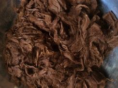 Alpaca Raw Fiber~Washed Suri~Celeste~2.3