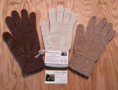 GLOVES: 80% Alpaca ALL-TERRAIN