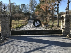 Check out our new gate.
