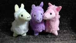 Mini Plush Alpaca