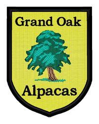 Grand Oak Alpacas - Logo