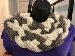 Photo of Double Braided Cowl