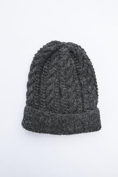 Hat - 100% Alpaca - Trenza Cable