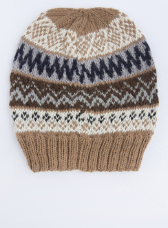 Photo of Fair Isle Alpaca Hat