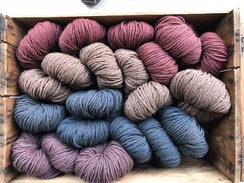 "Photo of 3 ply Worsted ""Spice Girl"" Alpaca Wool"