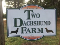 Two Dachshund Farm - Logo