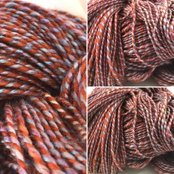 Photo of HandSpun/Dyed-Through The Looking Glass