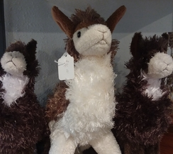 Photo of Stuffed Alpaca Plush