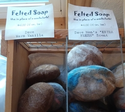 Photo of Felted Soap (4 oz. bar)