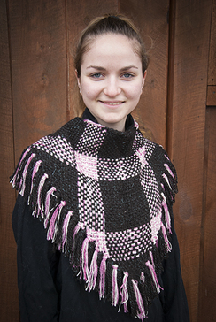 Photo of Handwoven Triangle Shawl