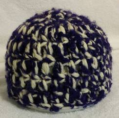 """New Royalty"" Newborn Baby Hat"
