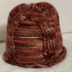 """""""Rosey"""" Knit Baby Hat"""