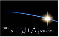 FIRST LIGHT Alpacas - Logo