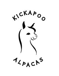 KICKAPOO ALPACAS - Logo