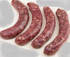 Sausage 60%alpaca & 40% local beef