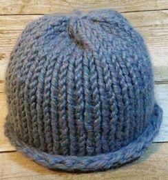 Knit Baby Alpaca Baby Hat-SOLD