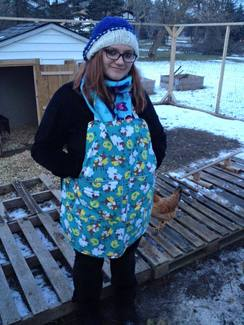 Photo of Mommy and Me Egg Aprons