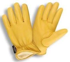 Photo of Alpaca Lined Cowhide LeatherWork Gloves