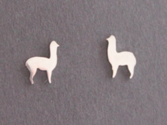 Photo of Sterling Silver Alpaca Earrings