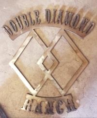DOUBLE DIAMOND RANCH - Logo