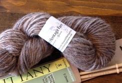 Alpaca/merino lopi yarn