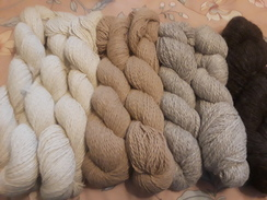 White Alpaca Yarn from Big Guy
