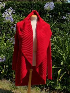 Photo of Crimson Cardigan